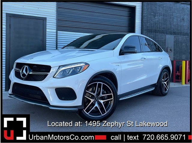 2017 Mercedes-Benz GLE-Class GLE AMG 43 4MATIC Coupe