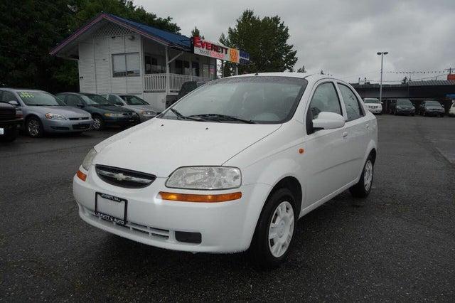2004 Chevrolet Aveo Special Value Sedan FWD