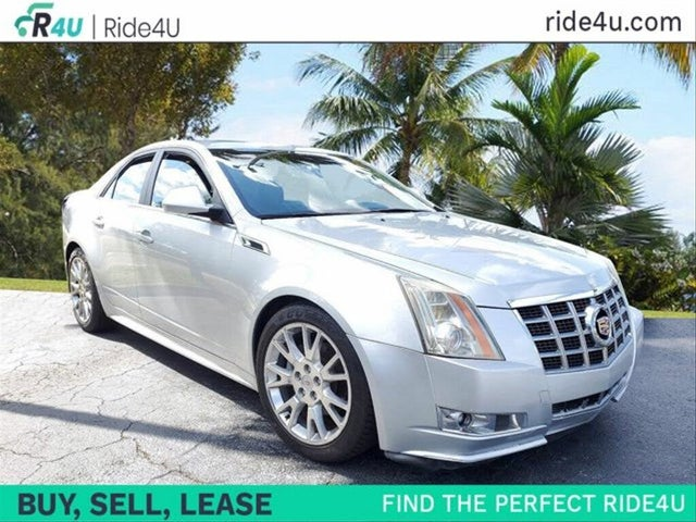 2013 Cadillac CTS 3.6L Premium RWD