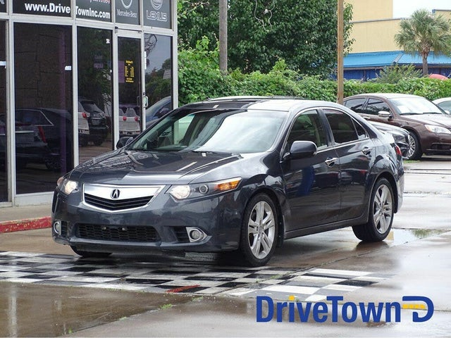 2012 Acura TSX V6 Sedan FWD with Technology Package