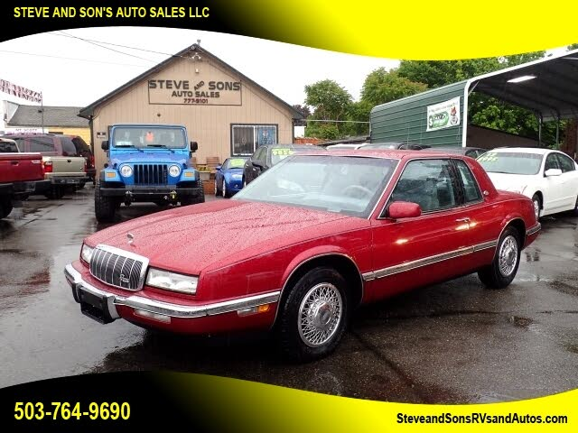 1991 Buick Riviera Coupe FWD