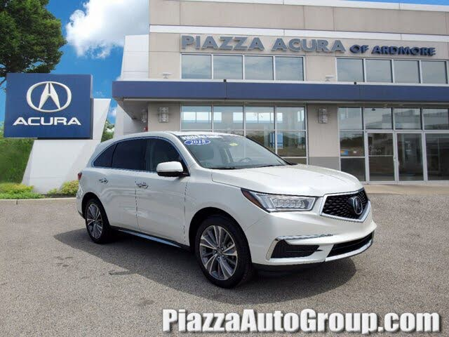 2018 Acura MDX SH-AWD with Technology Package