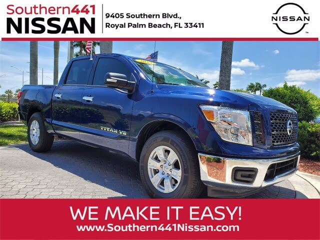 2019 Nissan Titan SV Crew Cab RWD