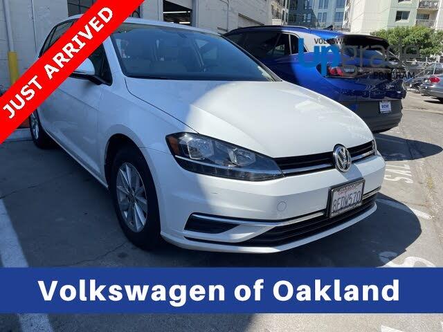 2018 Volkswagen Golf 1.8T S 4-Door FWD