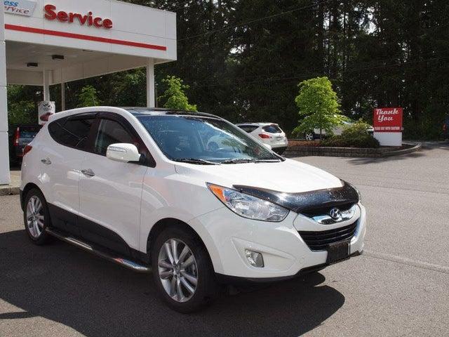 2013 Hyundai Tucson Limited AWD with Navigation