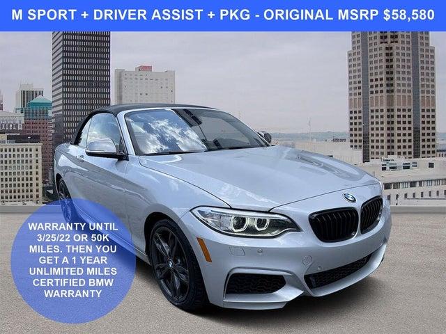 2017 BMW 2 Series M240i Convertible RWD