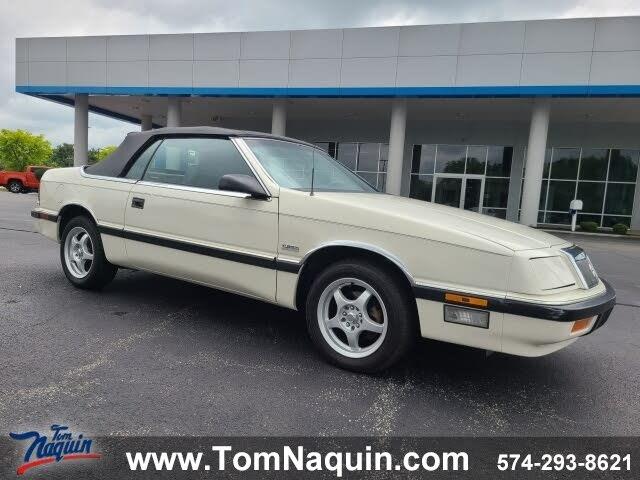 1987 Chrysler Le Baron Base Convertible