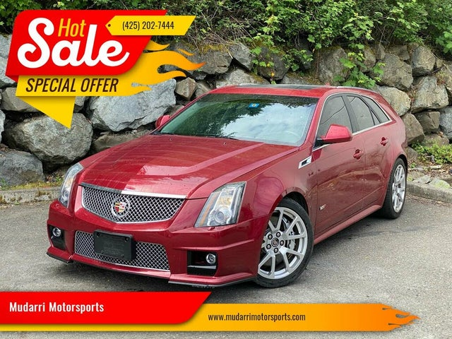 2011 Cadillac CTS-V Wagon RWD