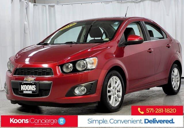 2013 Chevrolet Sonic LT Sedan FWD