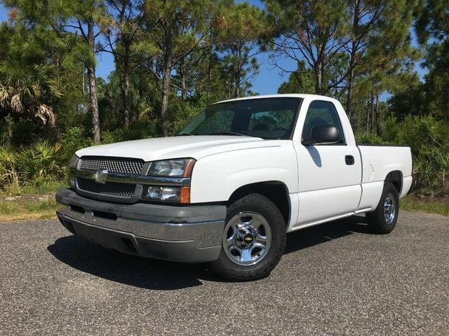 2004 Chevrolet Silverado 1500 Work Truck RWD