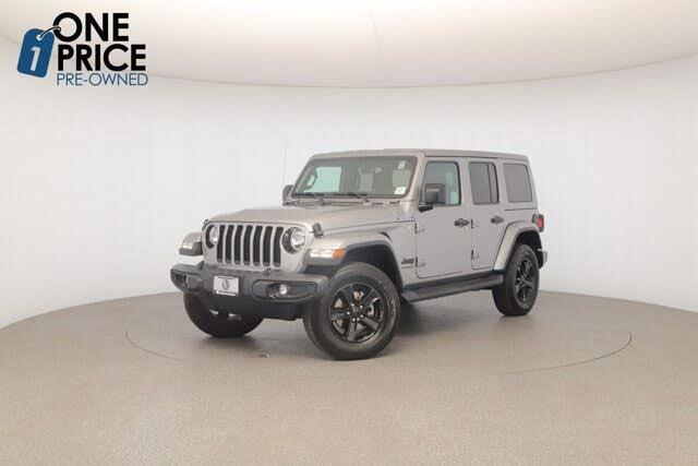 2019 Jeep Wrangler Unlimited Sahara Altitude 4WD