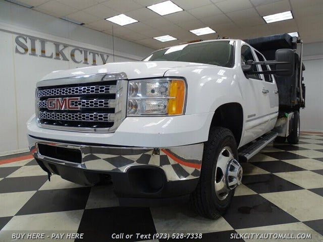 2013 GMC Sierra 3500HD Work Truck Crew Cab 4WD Chassis