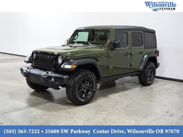 2020 Jeep Wrangler Unlimited Willys Sport 4WD