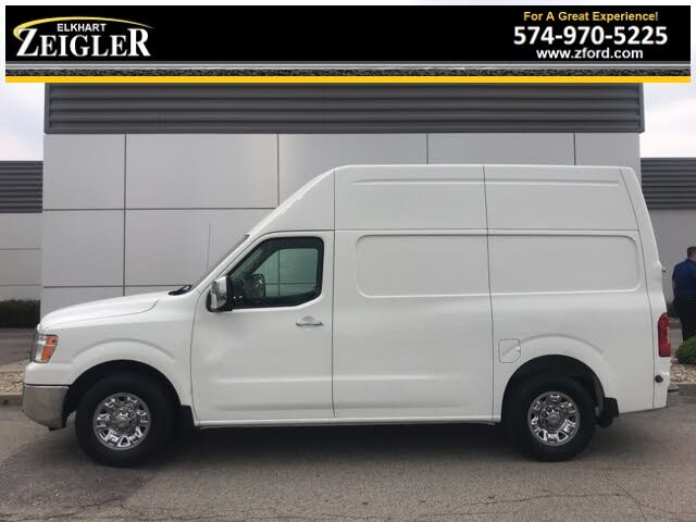 2017 Nissan NV Cargo 3500 HD SL with High Roof