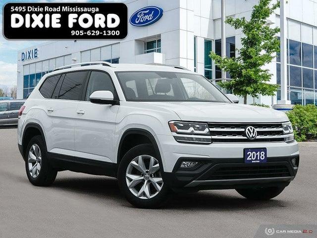 2018 Volkswagen Atlas 3.6L Comfortline 4Motion