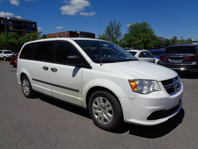 2015 Dodge Grand Caravan Canada Value Package FWD