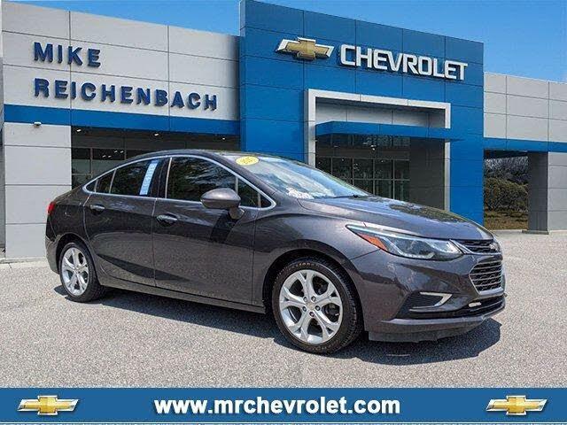 2017 Chevrolet Cruze Premier Sedan FWD