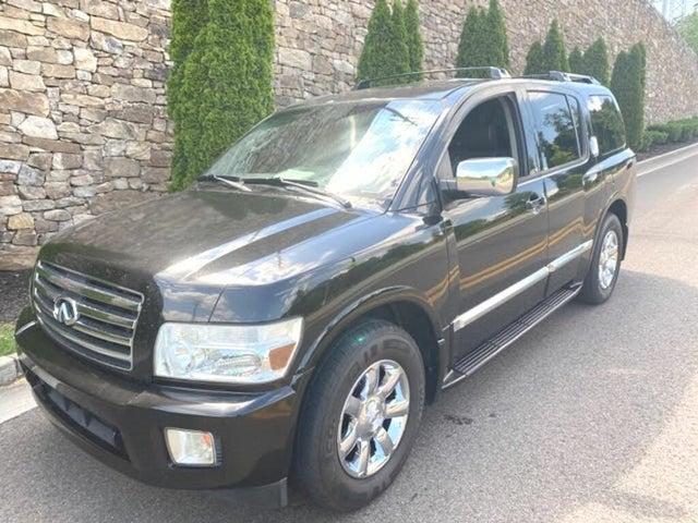 2005 INFINITI QX56 4WD