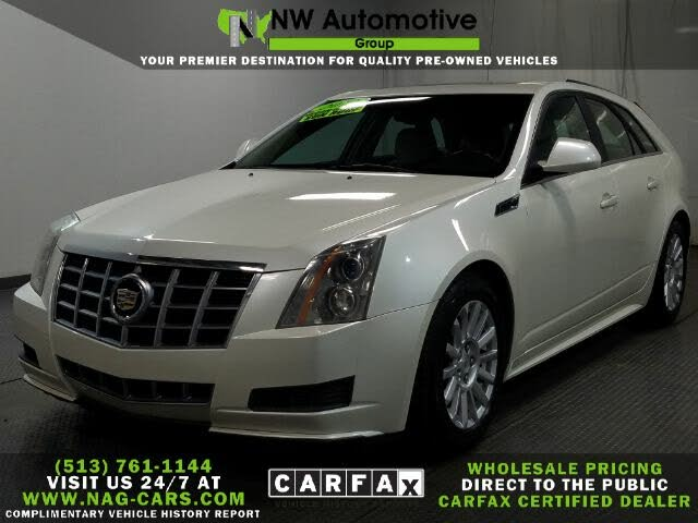 2012 Cadillac CTS Sport Wagon 3.0L Luxury RWD