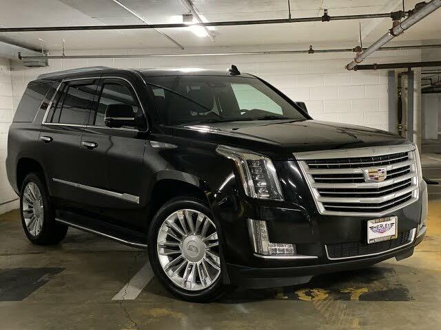 2016 Cadillac Escalade Platinum 4WD