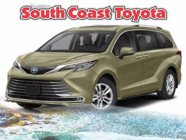 2021 Toyota Sienna Limited 7-Passenger FWD
