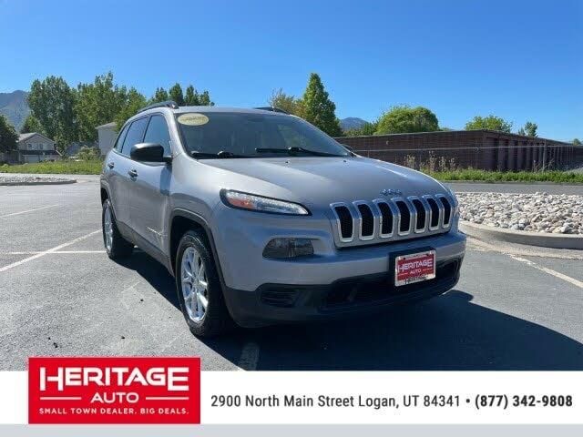 2017 Jeep Cherokee Sport Altitude FWD