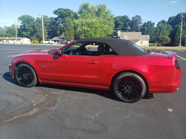 2013 Ford Mustang GT Premium Convertible RWD
