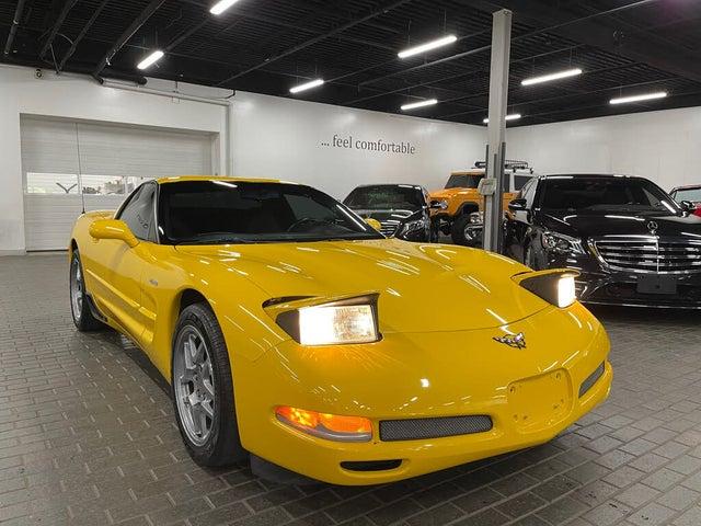 2002 Chevrolet Corvette Z06 Hardtop Coupe RWD
