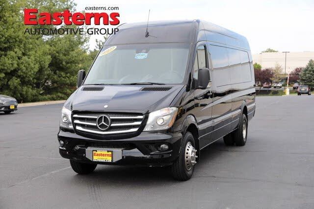 2014 Mercedes-Benz Sprinter Cargo 3500 170 High Roof Extended DRW RWD
