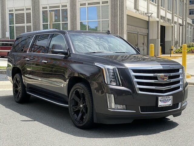 2017 Cadillac Escalade ESV Platinum 4WD