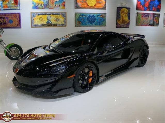 2020 McLaren 600LT Spider RWD