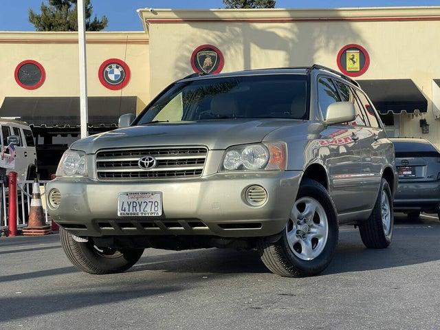 2002 Toyota Highlander Base V6