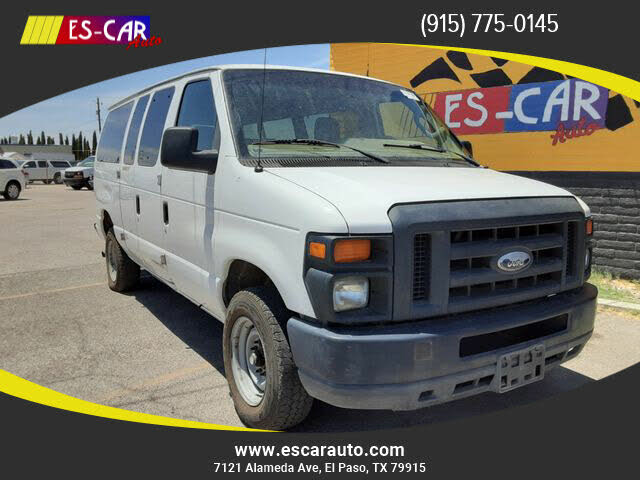 2014 Ford E-Series E-350 XL Super Duty Passenger Van
