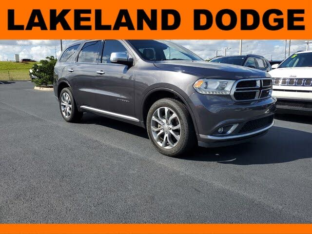 2018 Dodge Durango Citadel Anodized Platinum AWD