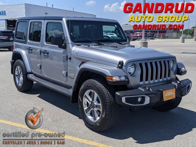 2018 Jeep Wrangler Unlimited Sahara 4WD