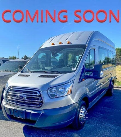 2016 Ford Transit Passenger 350 HD XLT Extended High Roof LWB DRW RWD with Sliding Passenger-Side Door