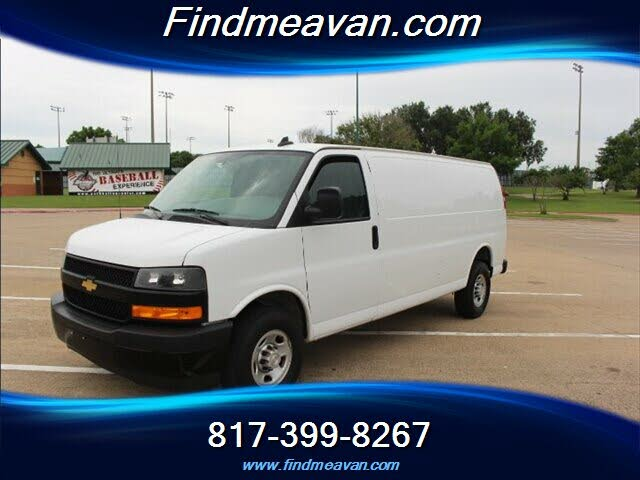 2018 Chevrolet Express Cargo 2500 Extended RWD