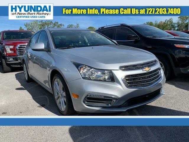 2016 Chevrolet Cruze Limited LTZ FWD