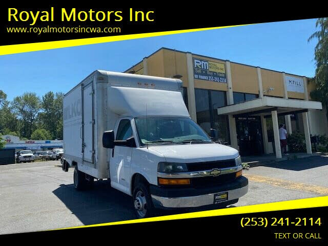 2013 Chevrolet Express 4500 Chassis