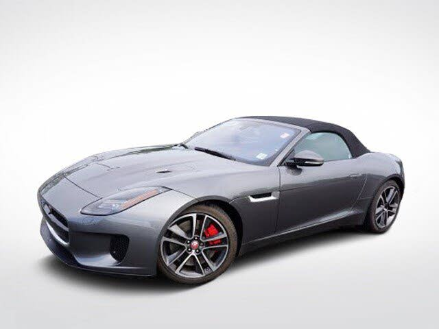 2018 Jaguar F-TYPE 380HP Convertible AWD