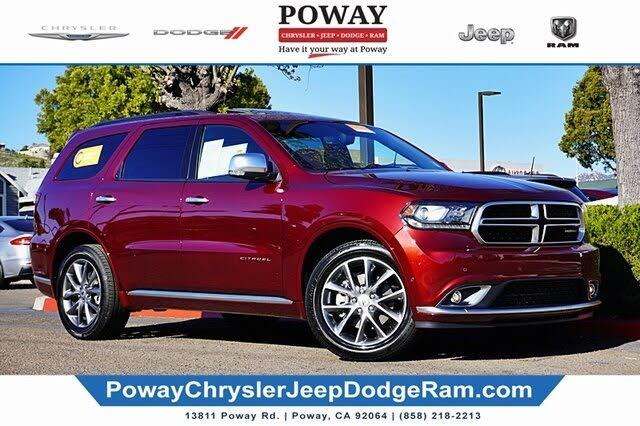 2020 Dodge Durango Citadel Anodized Platinum RWD