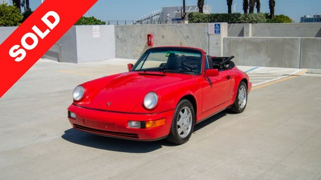 1991 Porsche 911 Carrera 4 Convertible AWD