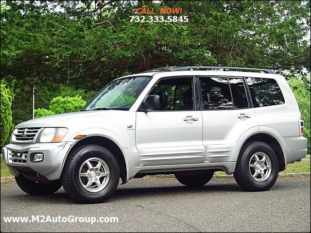 2002 Mitsubishi Montero Limited 4WD