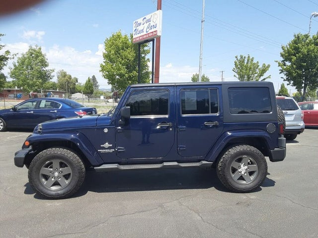 2012 Jeep Wrangler Unlimited Freedom Edition 4WD