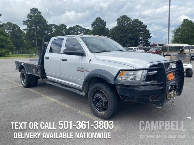 2014 RAM 4500 Chassis Crew Cab 4WD