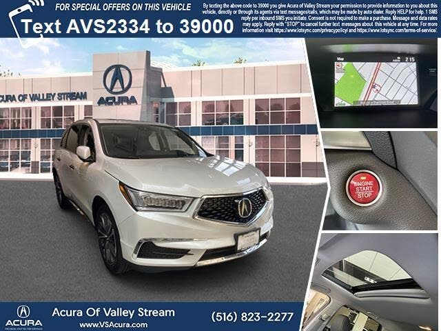 2020 Acura MDX SH-AWD with Technology Package