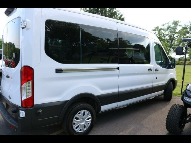 2018 Ford Transit Passenger 350 XLT Medium Roof LWB RWD with Sliding Passenger-Side Door