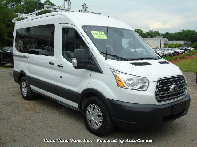 2015 Ford Transit Passenger 150 XLT Medium Roof RWD with Sliding Passenger-Side Door
