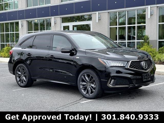 2019 Acura MDX SH-AWD with Technology and A-SPEC Package