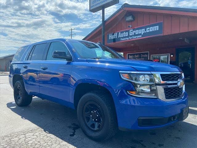 2016 Chevrolet Tahoe Police 4WD